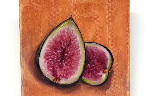 Original Painting 'Fig Still Life'