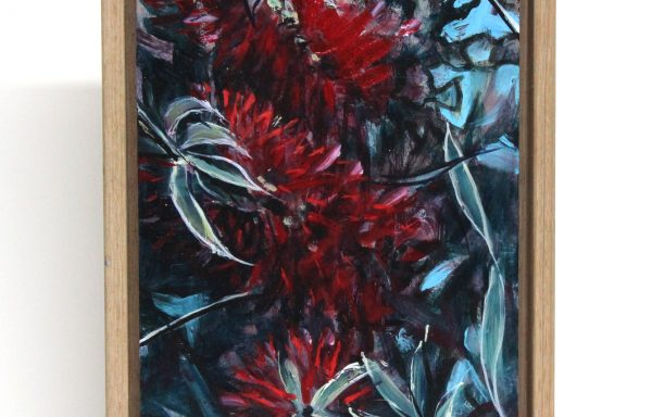 Original Painting 'Red Brush'