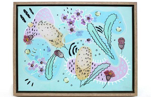 Original Painting 'Rugrats 50's Botanical'