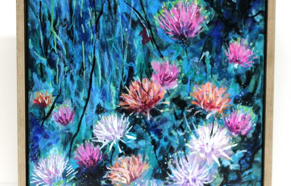 Original Painting 'Native Grounding Flowers'